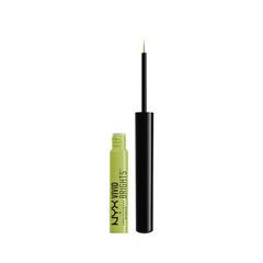 Подводка NYX Professional Makeup Vivid Brights Eyeliner 03 (Цвет 03 Vivid Escape variant_hex_name C6D077)