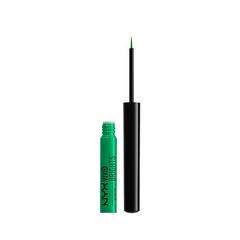 Подводка NYX Professional Makeup Vivid Brights Eyeliner 07 (Цвет 07 Vivid Envy variant_hex_name 22AB63)