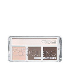 Многофунциональные Catrice Палетка для контурирования век и бровей Eye & Brow Contouring Palette 010 (Цвет 010 But First, Cold Chocolate! variant_hex_name EDC8BC) для глаз catrice the modern matt collection eyeshadow palette 010 цвет 010 the must have matts variant hex name b19f9b
