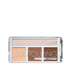 Для глаз Catrice Палетка для контурирования век и бровей Eye  Brow Contouring Palette 020 (Цвет 020 But First, Hot Coffee! variant_hex_name F3C19F)