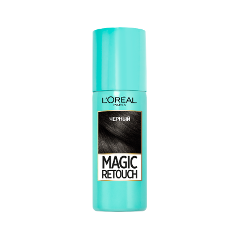 Окрашивание L'Oreal Paris Тонирующий спрей Magic Retouch Black (Цвет Black variant_hex_name 000000)