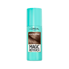Окрашивание L'Oreal Paris Тонирующий спрей Magic Retouch Brown (Цвет Brown variant_hex_name 83614e)