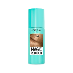 Окрашивание L'Oreal Paris Тонирующий спрей Magic Retouch Dark Blonde (Цвет Dark Blonde variant_hex_name cc9b72)