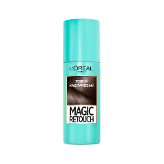 Окрашивание L'Oreal Paris Тонирующий спрей Magic Retouch Dark Brown (Цвет Dark Brown variant_hex_name 665249)