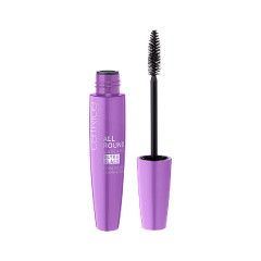 Тушь для ресниц Catrice All Round Mascara Ultra Black (Цвет 010 Blackest Carbon Black Ever variant_hex_name 1b1b25 Вес 20.00) клей для ресниц catrice lash glue 010 цвет 010 прозрачный variant hex name ffffff