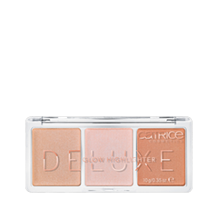 Хайлайтер Catrice Deluxe Glow Highlighter 010 (Цвет 010 The Glowrious Three variant_hex_name E2BAA9 Вес 50.00)
