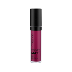 Жидкая помада Catrice Velvet Matt Lip Cream 040 (Цвет 040 Plumming Bird variant_hex_name 9B2242 Вес 10.00)