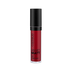 Жидкая помада Catrice Velvet Matt Lip Cream 060 (Цвет 060 REDvolution variant_hex_name 93272C Вес 10.00)