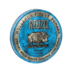 Помада Reuzel Blue Strong Hold High Sheen Pomade (Объем 113 г) гель для укладки волос strong hold cosmia 250 мл