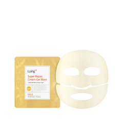 Гидрогелевая маска LLang Super Repair Cream-gel Mask Gold (Объем 25 мл)