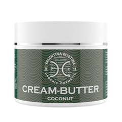 Крем для тела Valentina Kostina Крем-баттер с кокосом Coconut Cream Butter Organic Cosmetic (Объем 200 мл)