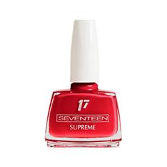 Лак для ногтей Seventeen Supreme Nail Enamel 189 (Цвет 189 variant_hex_name BF0222) лак для ногтей seventeen supreme nail enamel 47 цвет 47 variant hex name b81b12
