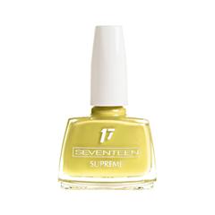 Лак для ногтей Seventeen Supreme Nail Enamel 196 (Цвет  variant_hex_name E8D66A)