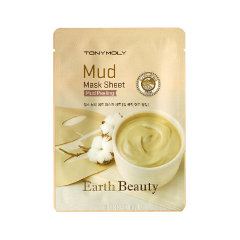 Тканевая маска Tony Moly Earth Beauty Mud Mask Sheet (Объем 35 г)