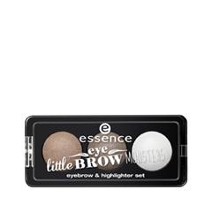 ��� ������ essence Little Eyebrow Monsters Eyebrow Highlighter Set 01 (���� 01 Little Miss Natural)