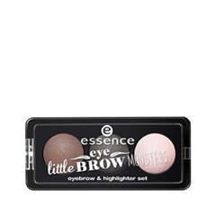 Для бровей essence Little Eyebrow Monsters Eyebrow Highlighter Set 02 (Цвет 02 Little Miss Bold variant_hex_name 5E5956)