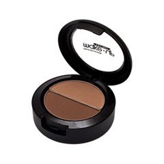 Тени для бровей Make-Up Secret Eyebrow Cake ECP3 (Цвет ECP3  variant_hex_name A66E53)