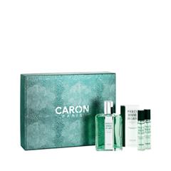 Туалетная вода Caron Парфюмерный набор Coffret Pour un Homme Eau de Toilette (Объем 125 мл+15 мл+15 мл)