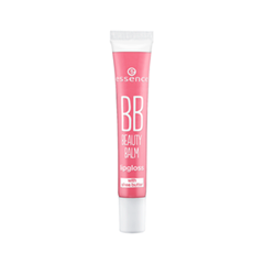 Цветной бальзам для губ essence BB Beauty Balm Lipgloss 02 (Цвет 2 Shh, Just Kiss Me variant_hex_name F4A7B4)