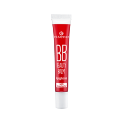 Цветной бальзам для губ essence BB Beauty Balm Lipgloss 05 (Цвет 05 Heartbreaker variant_hex_name EB4162)