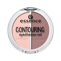 Тени для век essence Contouring Eyeshadow Set 01 (Цвет 01 Mauve Meets Marshmallows variant_hex_name A57A7A) тени для век essence тени хайлайтер hi lighting eyeshadow mousse 01 цвет 01 hi ivory variant hex name fdece4