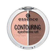 Тени для век essence Contouring Eyeshadow Set 02 (Цвет 02 Brownies With Frosting variant_hex_name 8C675C) купить