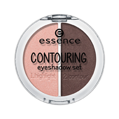 Тени для век essence Contouring Eyeshadow Set 03 (Цвет 03 Roses Meet Mahagony variant_hex_name 654B49)