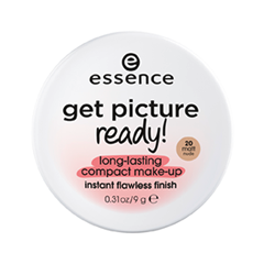Тональная основа essence Get Picture Ready! Long-Lasting Compact Make-Up 20 (Цвет 20 Matt Nude variant_hex_name F4D5BF)