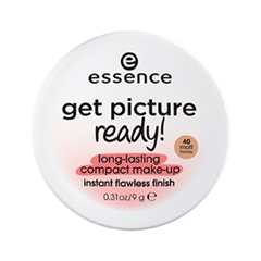 Тональная основа essence Get Picture Ready! Long-Lasting Compact Make-Up 40 (Цвет 40 Matt Honey variant_hex_name DFBCAB)