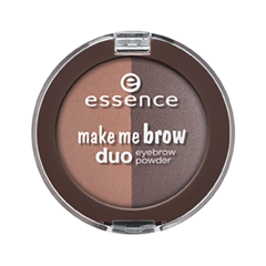Тени для бровей essence Make Me Brow Duo Eyebrow Powder 02 (Цвет 02 Mix it Brunette! variant_hex_name 766161) тушь для бровей essence make me brow
