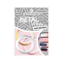 Дизайн ногтей essence Наклейки для маникюра Nail Art Sticker 04 (Цвет 04 Metal Stripes  variant_hex_name F0BBBB)