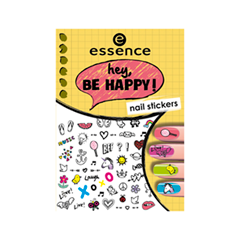 Дизайн ногтей essence Наклейки для маникюра Nail Art Sticker 05 (Цвет 05 Hey, Be Happy!  variant_hex_name EB5C78)