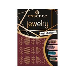 Дизайн ногтей essence Наклейки для маникюра Nail Art Sticker 09 (Цвет 09 Jewelry Nail Stickers variant_hex_name AF975F)