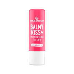 Цветной бальзам для губ essence Balmy Kiss Moisturizing Lip Care 04 (Цвет 04 Treat Me Right variant_hex_name FF6A8F)