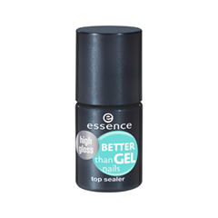 Топы essence Better Than Gel Nails Top Sealer High Gloss (Объем 8 мл)