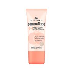 essence Camouflage 2in1 Make-up & Concealer 10 (Колір 10 Ivory Beige) sana make essence concealer stick spf 15