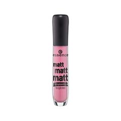 Блеск для губ essence Matt Matt Matt! Lipgloss 01 (Цвет 01 La Vie Est Belle variant_hex_name EBA7B9) essence matt matt matt блеск для губ тон 03 темно розовый