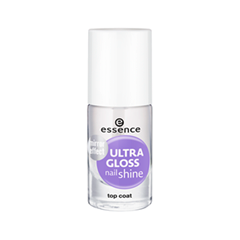 Топы essence Ultra Gloss Nail Shine (Объем 8 мл) дизайн ногтей essence накладные ногти french click