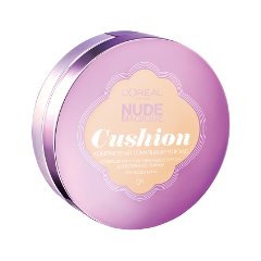 Кушон LOreal Paris Nude Magique Cushion Foundation 01 (Цвет 01 Фарфор variant_hex_name e6d4b5)