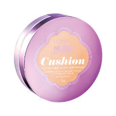 Кушон LOreal Paris Nude Magique Cushion Foundation 03 (Цвет 03 Ваниль variant_hex_name e8cfb0)