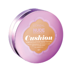 Кушон LOreal Paris Nude Magique Cushion Foundation 07 (Цвет 07 Золотисто-бежевый variant_hex_name e1b88a)