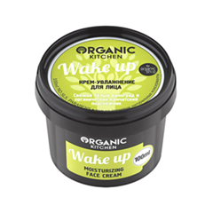 Крем Organic Shop Organic Kitchen Face Cream Wake up (Объем 100 мл) крем для рук lm mini pet hand cream 04 fruity floral 30 мл the face shop