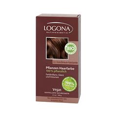 Краска для волос Logona Herbal Hair Colour Powder 060 (Цвет 060 Walnut Red-brown variant_hex_name 83262e)