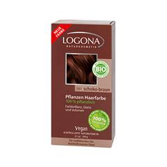 Краска для волос Logona Herbal Hair Colour Powder 091 (Цвет 091 Chocolate Brown variant_hex_name 6d3c2e)