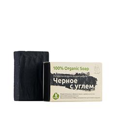 Мыло Мыловаров Натуральное черное мыло с углем (Объем 80 г)