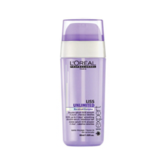 Сыворотка LOreal Professionnel Liss Unlimited SOS Smoothing Double Serum (Объем 30 мл)