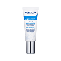 Крем Mavala Aqua Plus Multi-Moisturizing Featherlight Cream (Объем 45 мл) активно увлажняющая сыворотка aqua plus multi moisturizing intensive serum 30ml 9052114 mavala
