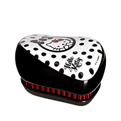 Расчески и щетки Tangle Teezer Compact Styler Hello Kitty Black (Цвет Hello Kitty Black variant_hex_name 000000)