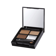 Набор для бровей Makeup Revolution Focus  Fix Brow Kit Medium Dark (Цвет Medium Dark  variant_hex_name 5C3F2E)