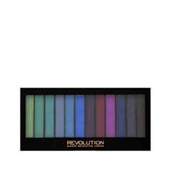 Для глаз Makeup Revolution Redemption Palette Mermaids vs Unicorns (Цвет Mermaids vs Unicorns variant_hex_name B259BC) makeup revolution redemption palette mermaids vs unicorns тени для век в палетке 12 тонов 13 г